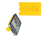 smartphone wallet with integrated stand