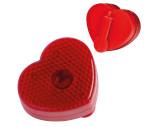 Flashlight clip in heart shape