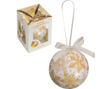 Plastic Christmas tree ball decoration - supplied in a gift box.
